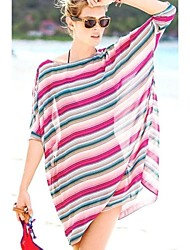 Women's Colorful Lightsome Sheer Chiffon Cover-Up