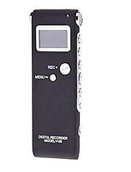 Grabadora digital con pantalla LCD (2 GB, Negro)