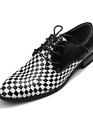 Men's Shoes Wedding/Party & Evening Leather Oxfords Black