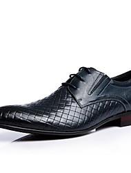 CEEN ® Top-grade Confort Cuir Mode Richelieus Chaussures pour les chaussures des hommes d'affaires modernes avec lacets