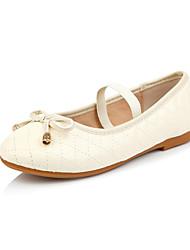 Heel plano da menina Mary Jane Comfort Flats com bowknot sapatos (mais cores)