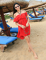 Women's Dresses , Chiffon Beach/Casual Kingmany