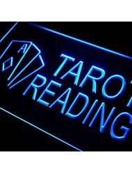 i446 Таро Чтение Услуги знак неонового света