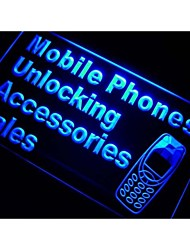 Mobile Phone Accessories Sales Neon Light Sign