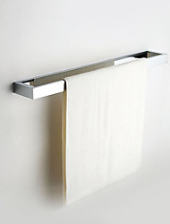 "Barre porte-serviette Chrome Fixation Murale 660x150x55mm(26""x5.91""x2.17"") Laiton Contemporain"