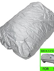 Protective Water Resistant Dust-Proof Anti-Scratching SUV Car Nylon Cover - Silver (SizeXL)