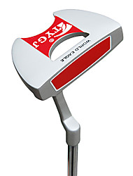 TTYGJ Golf Club Herren 35 Zoll S / R-Zink-Legierung Kopf Red Steel Shaft Putter