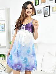Women Acrylic/Lace/Satin/Silk Pajama Medium