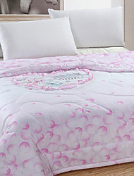 Ouka Silk Embroidery Summer Quilt