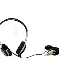 JiaHe CD-605MV auriculares del Sobre-Oído con el Mic