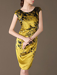 Women's Dresses , Silk Casual Lifver