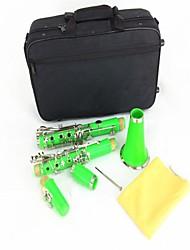 Кларнет инструмент кларнет Кларнет B-кларнет (зеленый)