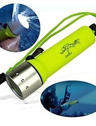 Cree Q3 Diving Flashlight 1600 Lumens Underwater Lamp