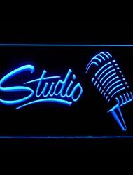 Studio d'enregistrement Publicité LED Connexion