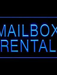 Mailbox Rental Advertising LED Light Sign
