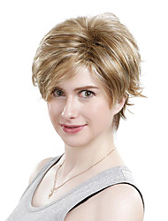 Capless Short Synthetic Curly Hair Wig