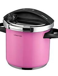 Linkfair® 6QT Stainless-steel Pressure Cooker / Caner, LFPC Series, Dia28cm xH30cm
