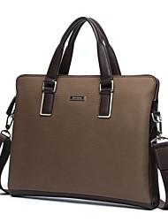 tela oxford bussiness bolso de mano hombres del maletín