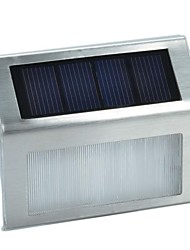 Light Control 2-LED Solar Wall Lamps Wall Mounted Fence Garden Light