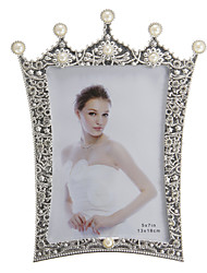 Crown Shaped European Style Alloy Photo Frame