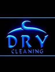 ropa seca publicidad limpieza llevó la muestra de la luz