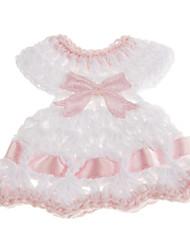 décoration de mariage robe baby shower de décoration bowknot forme - un ensemble de 6