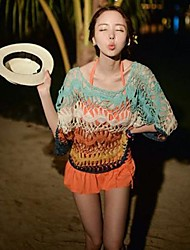 Women's New Crochet Sweater Woman Bikini Beach Outside Pullover Clothes