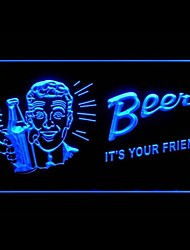 Beer Your Friend Advertising LED Light Sign