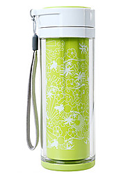 ACANU 280ML Stainless Steel Green Fashional Vacuum Cup