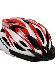 acrono 22 aberturas vermelho integralmente moldado capacete ciclismo (57-62 centímetros)