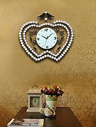 """Mela a forma di orologio da parete in metallo 24 """"di moda con trapano"""