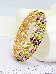westernrain multi-couleur strass bracelet des femmes