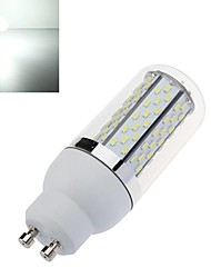 GU10 6W 120x3014SMD 720LM 6000-6500K Cool White Highlight Corn Light with Lamp Shade(AC 85-265V)