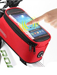 ROSWHEEL® Bike Bag #(1.5)LBike Frame Bag / Cell Phone Bag Waterproof / Quick Dry / Dust Proof / Wearable / Touch Screen Bicycle BagPVC /