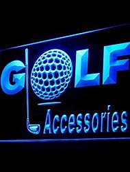 Enseigne lumineuse accessoires de golf publicitaire conduit