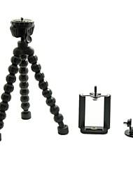 sostenedor del soporte del trípode pulpo portable universal con el trípode para la cámara / GoPro / digital de teléfono celular héroe 3 +