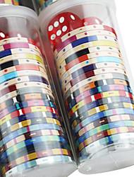 cilindrico gioco Family Pack chip mahjong compatibili con i giocattoli trasparenti