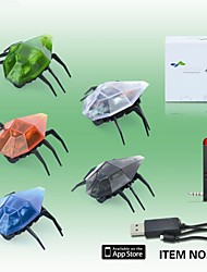 303 APP iPhone Remote Control Mini Crawling Beetles With Light And Music