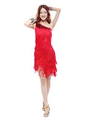 Dancewear Women's Milk Silk Latin Dance Outfit(More Colors)