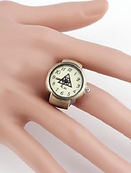 Idol Group EXO   Triangle-Shaped Metal Analog Quartz  Ring Watch(1Pc) Cool Watches Unique Watches