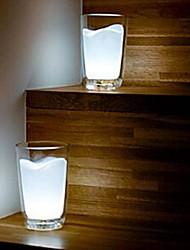 spia coway creativa tazza di latte bianco lampada da comodino led