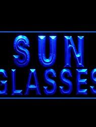 Sonnenbrille Werbung LED-Licht-Zeichen