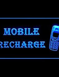 Мобильный телефон Пополнение Реклама светодиодные Вход