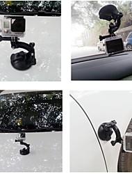 Dulane - 80cm soporte para coche taza poderosa succión para Hero GoPro 2/3/3 + - negro