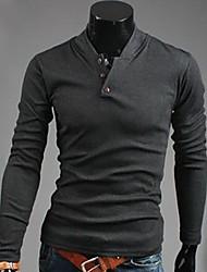 Men's Slim Pullover Cotton Sweater