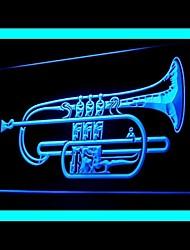 Horn Music Advertising LED Light Sign