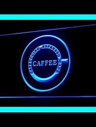 Капучино Эспрессо Кафе Реклама светодиодные Вход