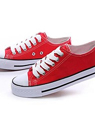 MEROKETTY®Women's Fashion Classical Canvas Shoes Sneakers(Red)