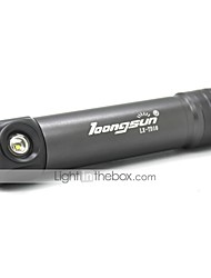 FC583 Daily Use 2 Modes 1xCree XML T6 Magnetic Led Flashlight(1000LM.1x18650.Gray)