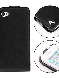 Genuine Leather Case for iPhone 4 and 4S (Black)